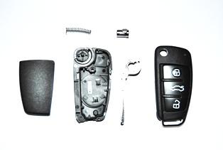 tauschen der batterie beim autoschlüssel